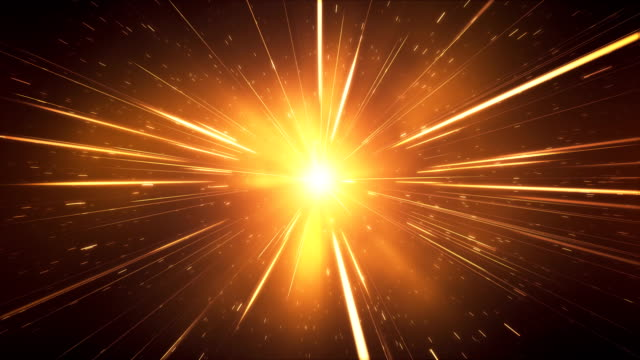 Glitzer / High Speed / Light Speed Animation (Gold) - Loop