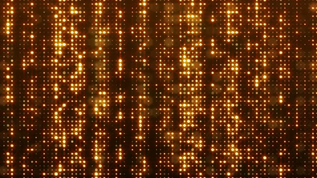 glitter lights 4k highly detailed background loopable - gold medalist stock videos & royalty-free footage