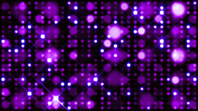 glitter spots background loop - nightclub stock videos & royalty-free footage