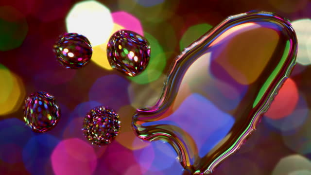 glitter water drop on glass abstract pattern backgrounds art - water form stock videos and b-roll footage