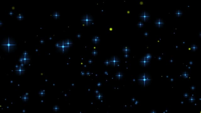 glittering background - blinking star stock videos & royalty-free footage