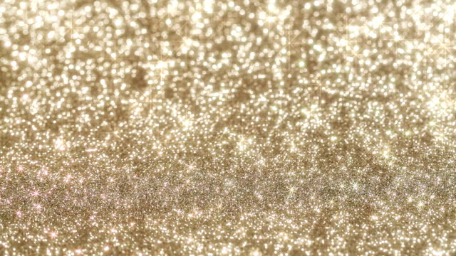 Glittering background with moving stars