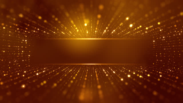 glittering stars particle background - loopable - award stock videos & royalty-free footage