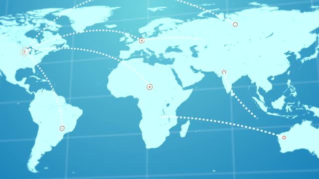 vídeos de stock, filmes e b-roll de rede global de negócios - casa de câmbio