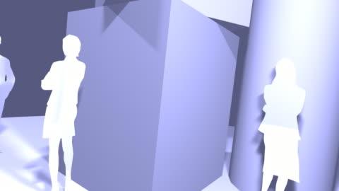 global business team - female likeness stock videos & royalty-free footage