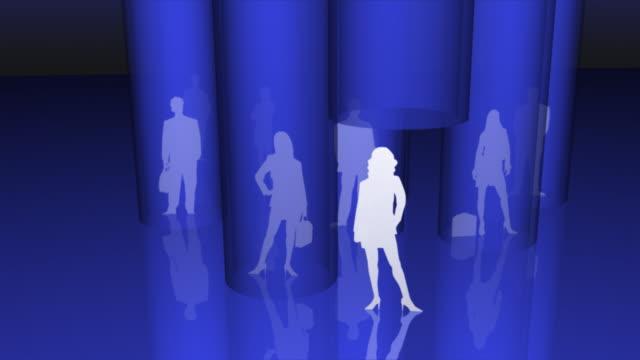 stockvideo's en b-roll-footage met global business team - vrouwelijke gestalte