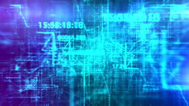 vidéos et rushes de concept de communication globale. contexte abstrait technologique - équipement informatique