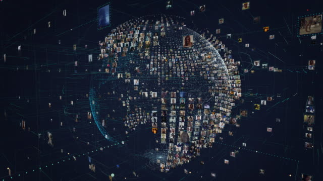 global communications metaphor - transparent stock videos & royalty-free footage