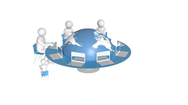 vidéos et rushes de connexion dans le monde entier. - concepts