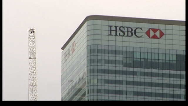 80 Top Canary Wharf Offices For Hsbc Video Clips & Footage - Getty