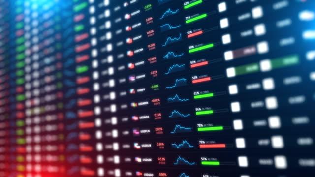 global currency exchange - borsa di new york video stock e b–roll