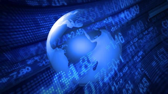 Global Finance Stock Market Animation