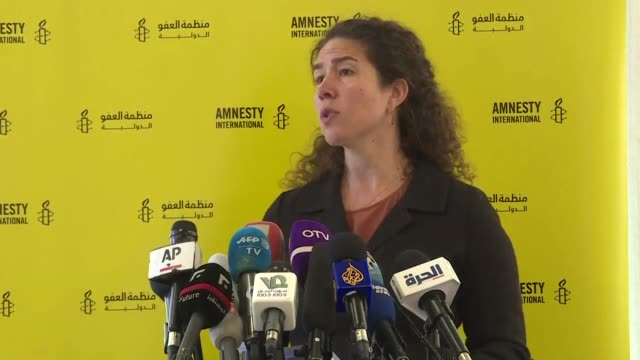 global indifference is fuelling atrocities across the middle east rights watchdog amnesty international warned in a report condemning what it called... - amnesty international stock videos & royalty-free footage