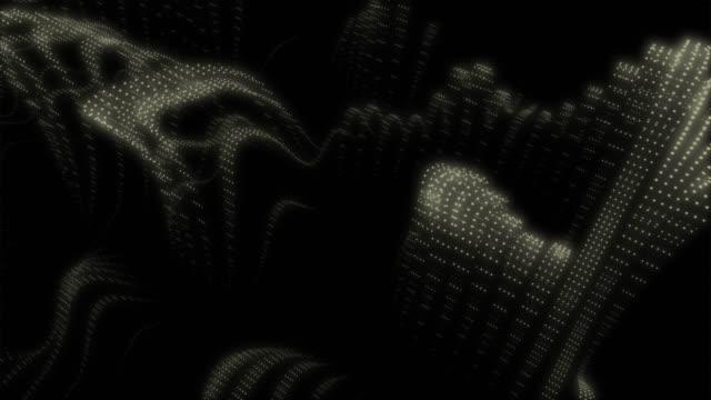 globales netzwerkkonzept. iot (internet der dinge). ikt (information communication network). netzwerk physischer geräte mit netzwerkkonnektivität. machine learning-algorithmen. analyse von informationen. technologiedaten und binärcode-netzwerk-übertrag - gehirn stock-videos und b-roll-filmmaterial