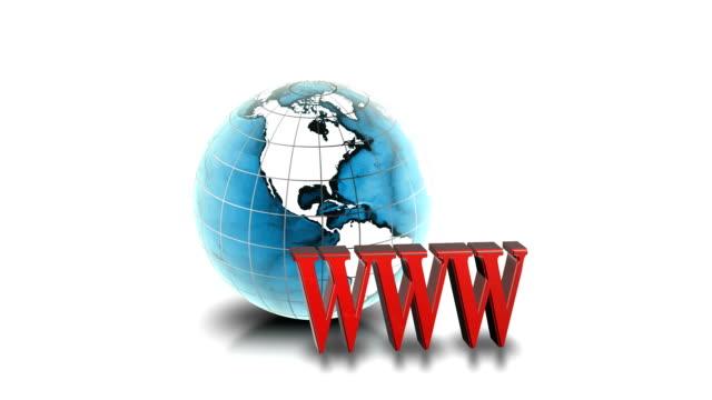 globales netzwerk/www - www stock-videos und b-roll-filmmaterial