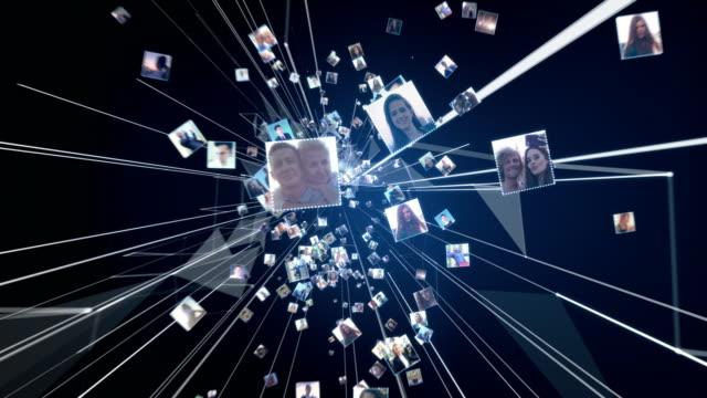 globale vernetzung. threadverbindungen - composite technik stock-videos und b-roll-filmmaterial