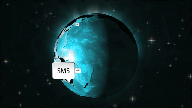 global sms - text messaging stock videos & royalty-free footage