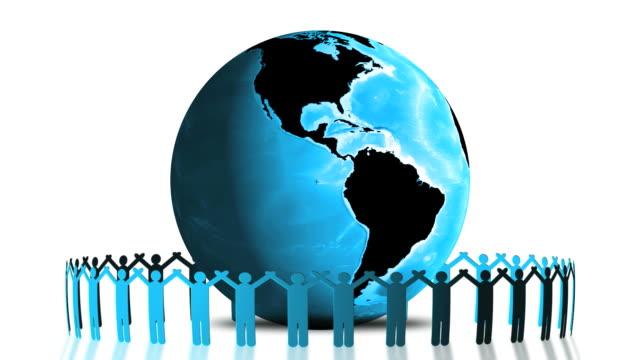 Global Social Connection Loop.
