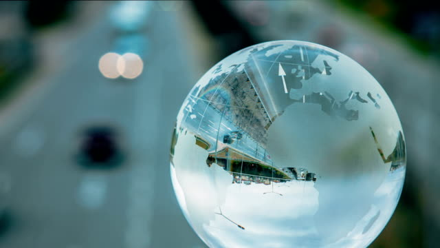 global  transportation - crystal ball stock videos & royalty-free footage