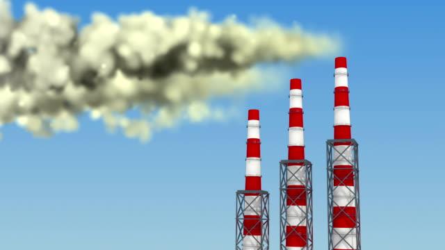Globale opwarming van de aarde animatie