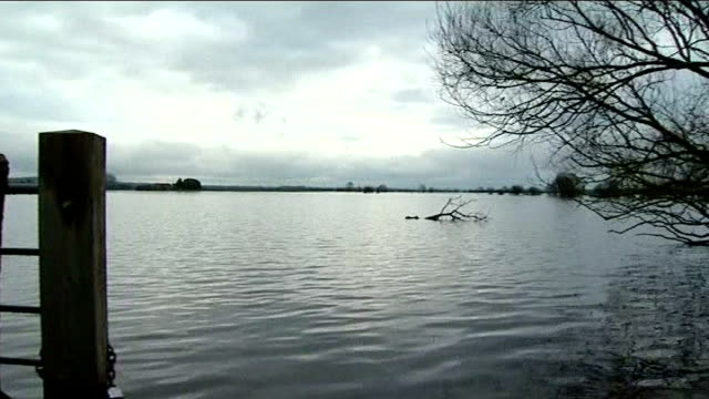 climate change report norfolk flood threat jan / feb 2014 somerset flooded fields in somerset levels devon dawlish waves crashing over railway lines... - somerset levels stock videos and b-roll footage