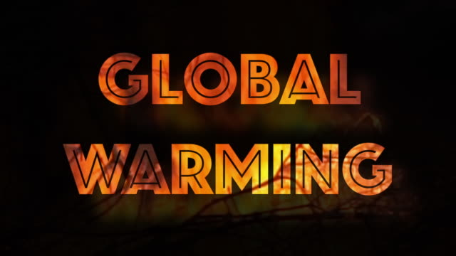 global warming heat wave fire burning environmental issue - infographic stock videos & royalty-free footage