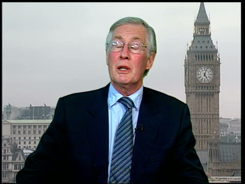 key proposals watered down 2 way exwestminster london westminster int michael meacher mp interview sot i think it's very disappointing and a big... - komplett stock-videos und b-roll-filmmaterial