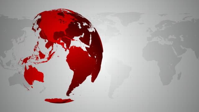 4 K mundo-en bucle de fondo