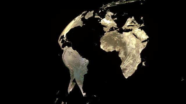 Globe Exploding