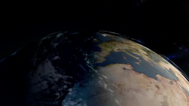 Globe To Flat Map HD720