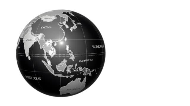 vídeos y material grabado en eventos de stock de globo terráqueo - globo terráqueo para escritorio