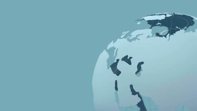 globe_loop - in buona condizione video stock e b–roll