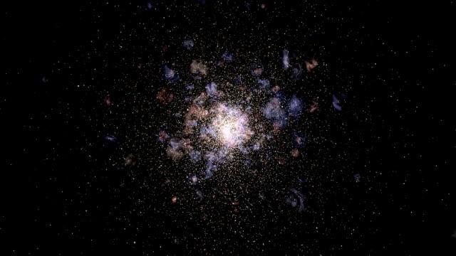 """vidéos et rushes de """"globular star cluster, animation"""" - physique"""