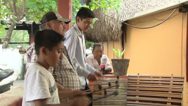 glockenspiel being played, mexico - mixed age range stock videos & royalty-free footage