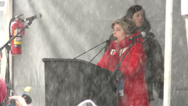 speech gloria allred at respect rally 2018 sundance film festival on january 20 2018 in park city utah - respect stock videos and b-roll footage