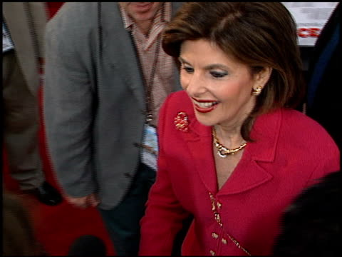 gloria allred at the 'rat race' premiere at cineplex odeon in century city california on july 30 2001 - odeon cinemas stock videos & royalty-free footage