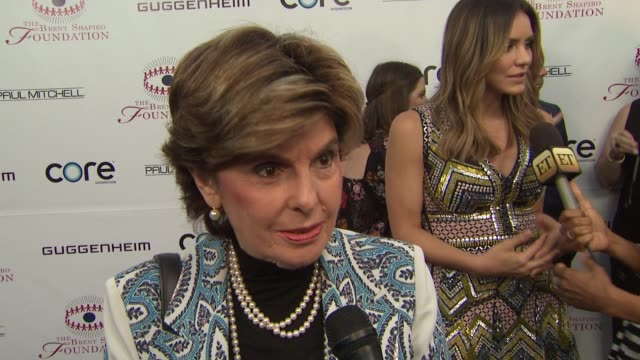 INTERVIEW Gloria Allred on the foundation knowing Robert Shapiro what the Foundation does at the The Annual Brent Shapiro Foundation For Alcohol And...