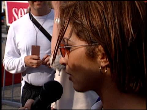 Gloria Estefan at the 1999 Teen Choice Awards at Barker Hanger in Santa Monica California on August 1 1999