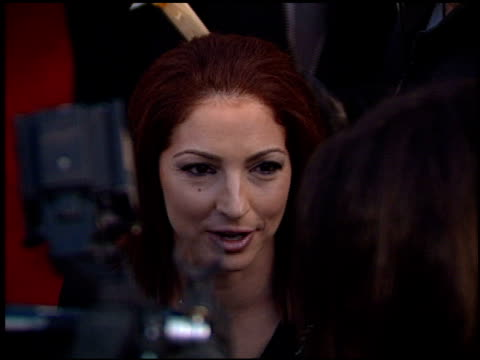 Gloria Estefan at the 2001 Grammy Awards at Staples in Los Angeles California on February 21 2001