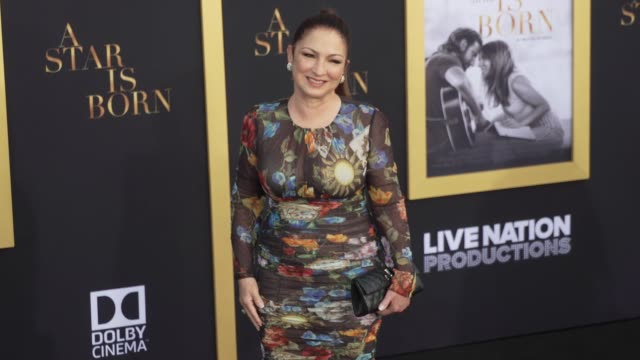 Gloria Estefan at the A Star Is Born Los Angeles Premiere at The Shrine Auditorium on September 24 2018 in Los Angeles California