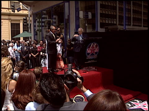 Gloria Estefan at the Dediction of Emilio Estefan's Walk of Fame Star at the Hollywood Walk of Fame in Hollywood California on June 9 2005