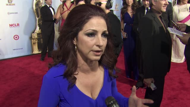 Gloria Estefan on how she feels to be debuting her new song at the Alma Awards why its important to have an award show that pay homage to the Latino...