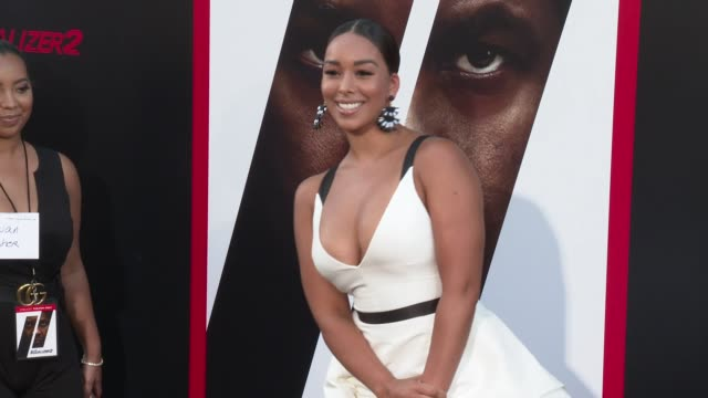 Gloria Govan at the 'The Equalizer 2' Premiere at TCL Chinese Theatre on July 17 2018 in Hollywood California