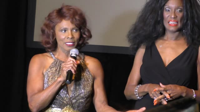 interview gloria hendry on being a bond girl at the spectre the black women of bond tribute at california african american museum on november 03 2015... - bond girl fictional character stock videos & royalty-free footage