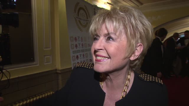gloria hunniford on the event, growing up with films in her life at national film awards at porchester hall on march 31, 2015 in london, england. - gloria hunniford stock-videos und b-roll-filmmaterial