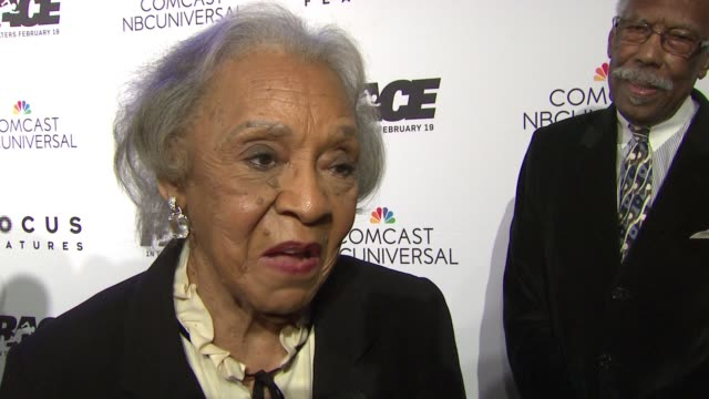 INTERVIEW Gloria Owens Hemphill Daughter of Jesse Owens talks about how she and the rest of the Owens family were involved in the making of this...
