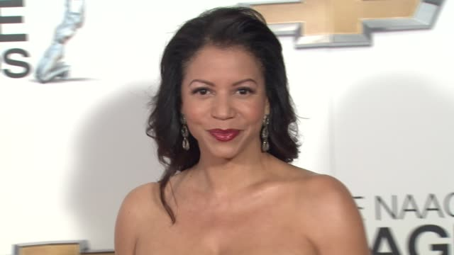 Gloria Reuben at 44th NAACP Image Awards Arrivals on 2/1/13 in Los Angeles CA