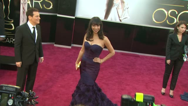 Gloria Reuben at 85th Annual Academy Awards Arrivals in Hollywood CA on 2/24/13