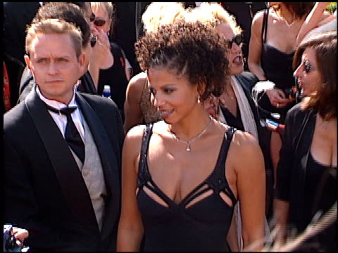 gloria reuben at the 1998 emmy awards at the shrine auditorium in los angeles, california on september 13, 1998. - shrine auditorium stock videos & royalty-free footage
