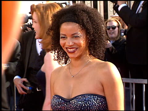 Gloria Reuben at the 1998 Screen Actors Guild SAG Awards at the Shrine Auditorium in Los Angeles California on March 8 1998
